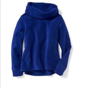 Old Navy Funnel neck microfleece pullover girls